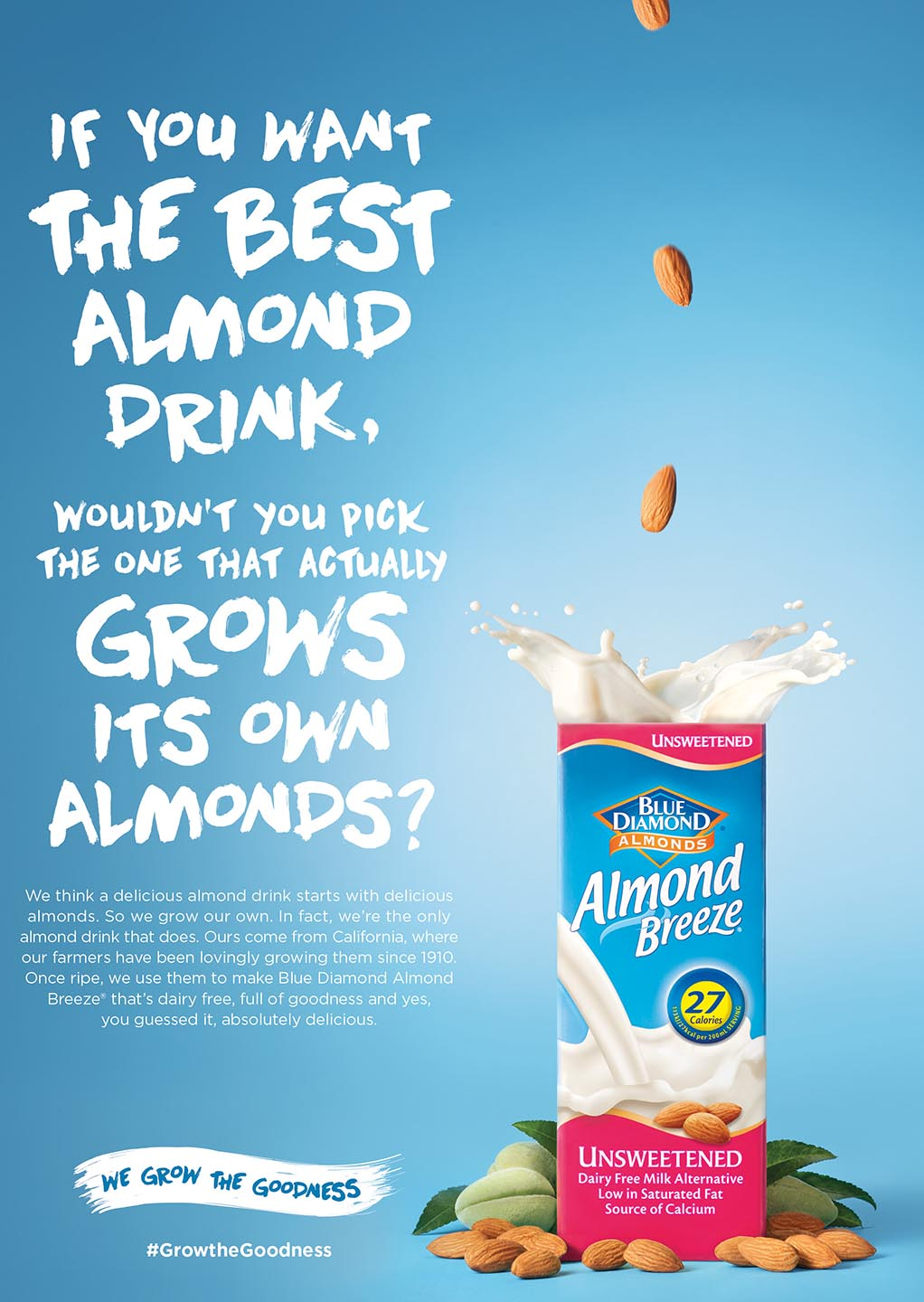 Almond milk web